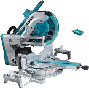 """Makita 18Vx2 Brushless 305mm(12"""") Slide Compound Saw 'Skin' with AWS Receiver - DLS211ZU"""