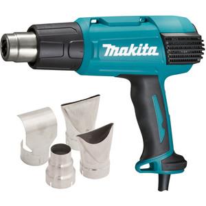 Makita 50-650°C Variable Heat Gun Kit - 3 Stage Air Volume settings - HG6530VKIT