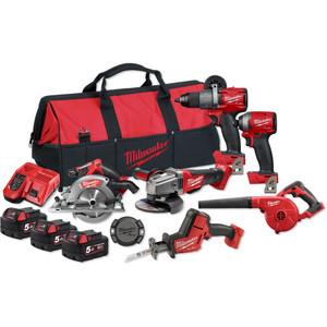 Milwaukee M18 FUEL® 6 Piece Power Pack 6A2 - M18FPP6A2-503B