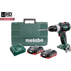 Metabo 18V Brushless Hammer Drill Kit - SB18LTBLPC4.0K