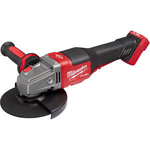 """Milwaukee M18 FUEL®125mm (5"""") RAPID STOP™ Angle Grinder with Dead Man Paddle Switch (Tool Only) - M18FSAG125XPDB-0"""