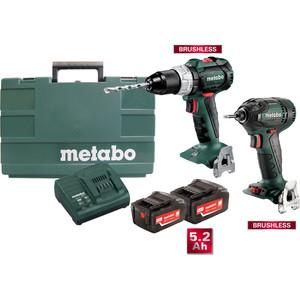 Metabo 18V Brushless 2 Piece Combo Kit - BL2PC2LP5.2A
