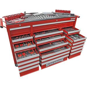 Sidchrome 523 Piece Metric/AF Foam Triple Bank Kit - SCMT10161