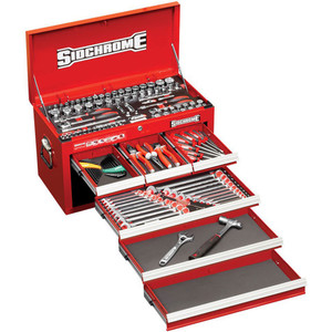 Sidchrome 139 Piece Metric Top Chest Kit - SCMT10157