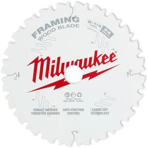 """Milwaukee 235mm (9 1/4"""") Framing 24T Circular Saw Blade - 48408924"""