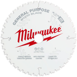 "Milwaukee 235mm (9 1/4"") Fine Finish 40T Circular Saw Blade - 48408926"
