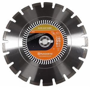 """Husqvarna ELITE-CUT S480 - 16"""" 415mm Premium 480 Plus Diamond Blade - 525364801"""