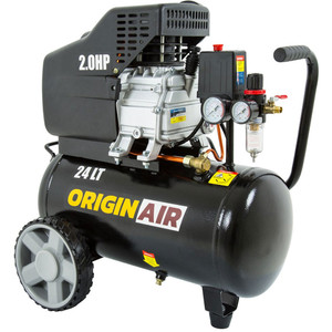 Origin Air 2.0HP Single Cylinder 120LPM Compressor - OA120-24