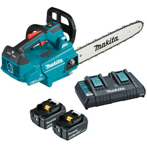 "Makita 18Vx2 Brushless Chainsaw 300mm (12"") Kit  - DUC306PT2"