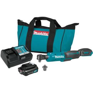 Makita 12V MAX Ratchet Wrench Kit - WR100DWA