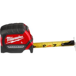 Milwaukee Compact Magnetic Tape Measure 5m - 48220505