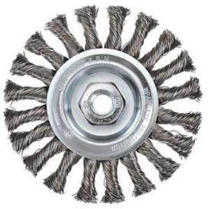 Bordo 100mm Twist Knot Wheel Brush MultiThread - 5106-100-3.5