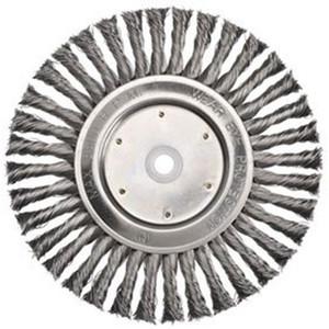 Bordo 125mm Twist Knot Wheel Stainless Steel Multibore - 5107-125.5