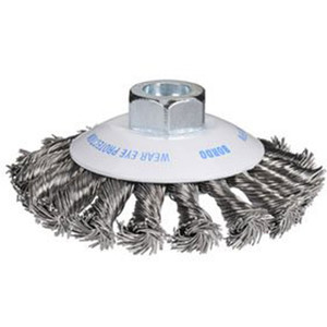 Bordo 100mm Twist Knot Bevel Brush Multi Thread - 5112-100-3.5