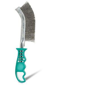 Bordo Universal Scratch Brush Plastic Handle Stainless Steel - 5174-SS-G