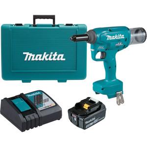 Makita 18V Brushless 4.8mm Rivet Gun Kit - DRV150RT