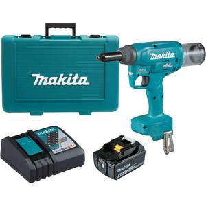 Makita 18V Brushless 6.4mm Rivet Gun Kit - DRV250RT