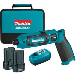 Makita 7.2V Impact Driver Kit - TD022DSE