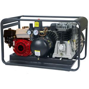 Peerless Black 17000 Petrol Compressor 6.5HP 9L Roll Cage - PB17000PR