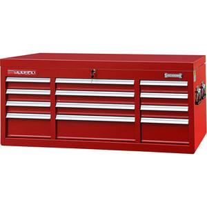 Sidchrome 12 Drawer Triple Bank Top Chest - SCMT50272