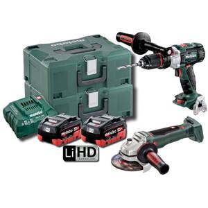 Metabo 18V Brushless 2 Piece 5.5Ah LiHD Combo Kit - SBWB125BLMHD5.5