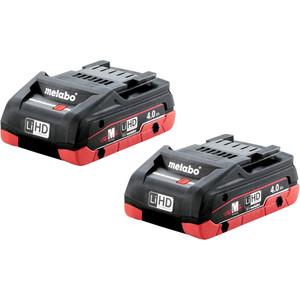 Metabo 2 x 4.0Ah LiHD Battery Pack - 4.0LiHDTP