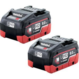 Metabo 2 x 8.0Ah LiHD Battery Pack - 8.0LiHDTP