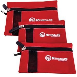 Renegade Industrial 3PC Zip Pouch Bag - RI3POUCH