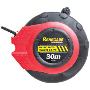 Renegade Industrial 30M Speed Wind Tape - Metric & IMP - RI30MT