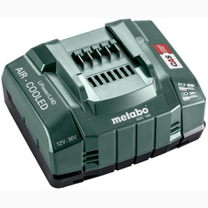 Metabo 12V - 36V ASC 145 Air-cooled Slide-on Battery Pack Super Fast Charger (8A) - 627381000