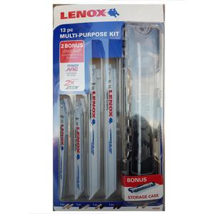 Lenox 13 Piece Multipurpose Reciprocate Saw Blade Kit - 1878161