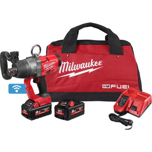 """Milwaukee M18 FUEL 1"""" High Torque Impact Wrench with ONE-KEY™ Kit - M18ONEFHIWF1-802B"""