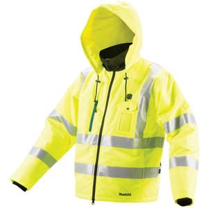 Makita 12V Max High Visibility Jacket 2XL - CJ106DZ2XL