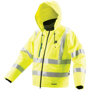 Makita 12V Max High Visibility Jacket 3XL - CJ106DZ3XL