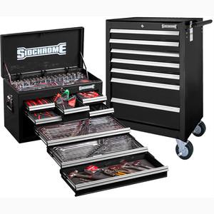 Sidchrome Black 262pce Metric/AF Tool Kit - SCMT10159B