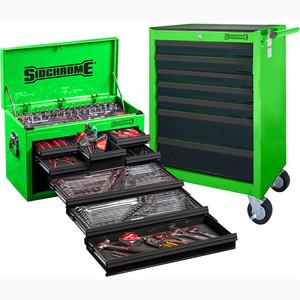 Sidchrome Green 262pce Metric/AK Tool Kit - SCMT10159G