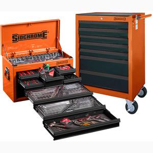 Sidchrome Orange 262pce Metric/AF Tool Kit - SCMT10159O