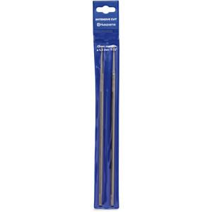"""Husqvarna Round File - Intensive Cut 4.0mm (5/32"""") 2 Pack - 5100957-01"""