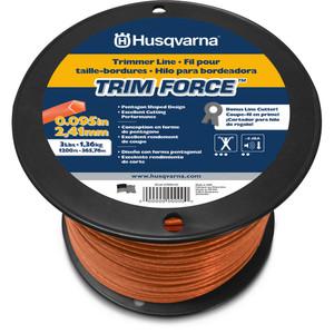 Husqvarna Trimmer Line - TrimForce™  2.4 mm x 50' Teardrop (15m) - 6390061-08