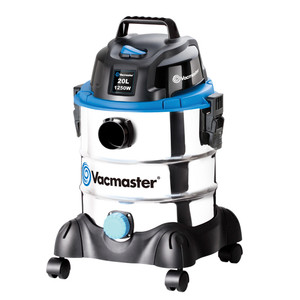Vacmaster 1250W Vacuum Wet / Dry 20L with Stainless Tank - VMVQ1220SS