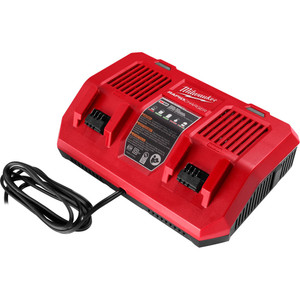 Milwaukee M18™ Dual Bay Simultaneous Rapid Charger - M18DFC