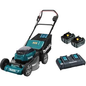 """Makita 18Vx2 Brushless Lawn Mower 534mm (21"""") Kit - DLM531PG2"""