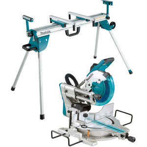 """Makita 260mm (10-1/4"""") Slide Compound Saw + Mitre Saw Stand - LS1019-WST06"""