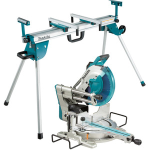 """Makita 305mm (12"""") Slide Compound Saw + Mitre Saw Stand - LS1219-WST06"""