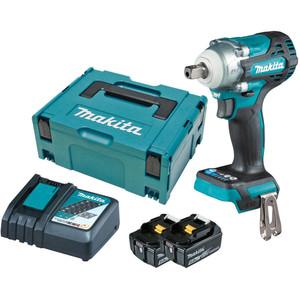 "Makita 18V BL 1/2"" Detent Pin Impact Wrench Kit - DTW301RTJ"