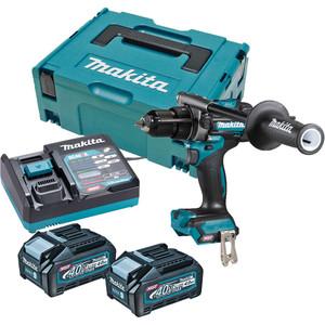 Makita 40V Max Brushless Hammer Driver Drill Kit - HP001GM203