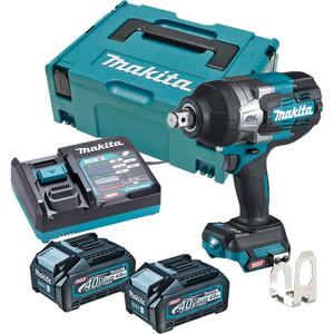"Makita 40V Max Brushless 3/4"" Impact Wrench Kit - TW001GM203"