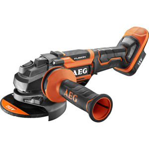 AEG 18V 125mm FUSION Paddle Switch Angle Grinder - BEWS18125BLP-0