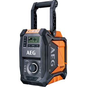 AEG 18V/240V Hybrid Bluetooth Jobsite Radio - BRFMB18-0