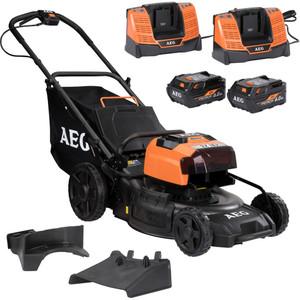 "AEG 2x18V (36V) 6.0ah 18"" FUSION Lawn Mower Kit - ALM18BS6"
